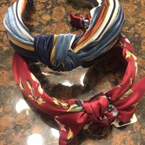 Two silk Headbands